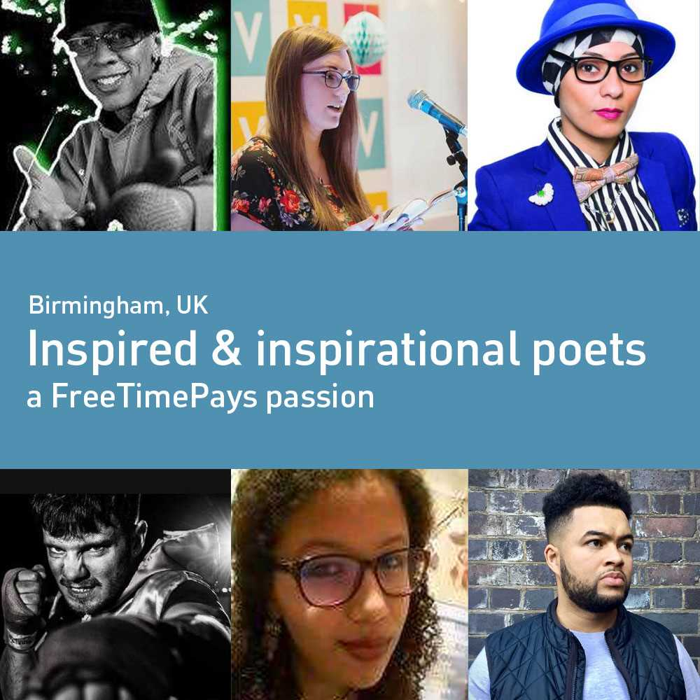Inspired and inspirational poets - Birmingham, UK