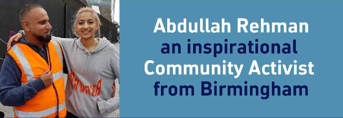 Introducing Abdullah Rehman - Anti-hate and Community
